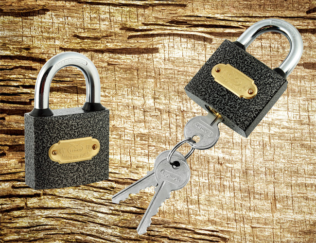 Heavy Type Color Sprayed Iron Padlock