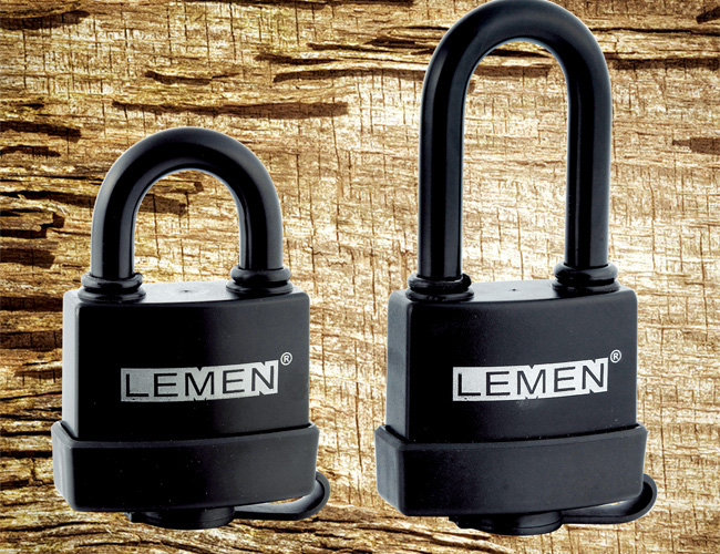 Plastic(ABS) Covered Waterproof Padlock