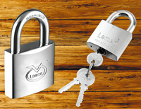 Elctroplated Iron Padlock
