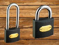 Standard Type Polished Iron Padlock
